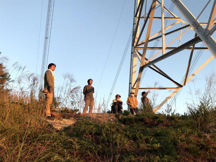 鉄塔で見る日の出